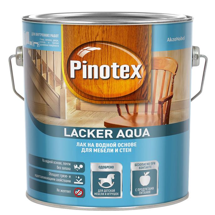 Лак акриловый Pinotex Lacker Aqua 2,7 л матовый