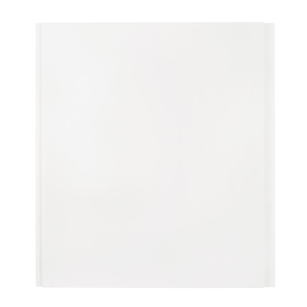 Панель ПВХ 250х3000х8 мм Nordside белая глянцевая