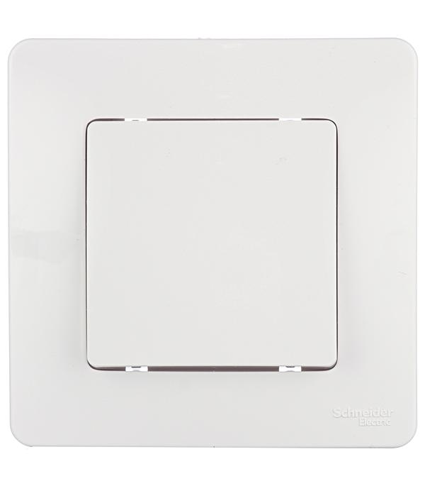 Купить Выключатель oдноклавишный с/у Schneider Electric Blanca белый