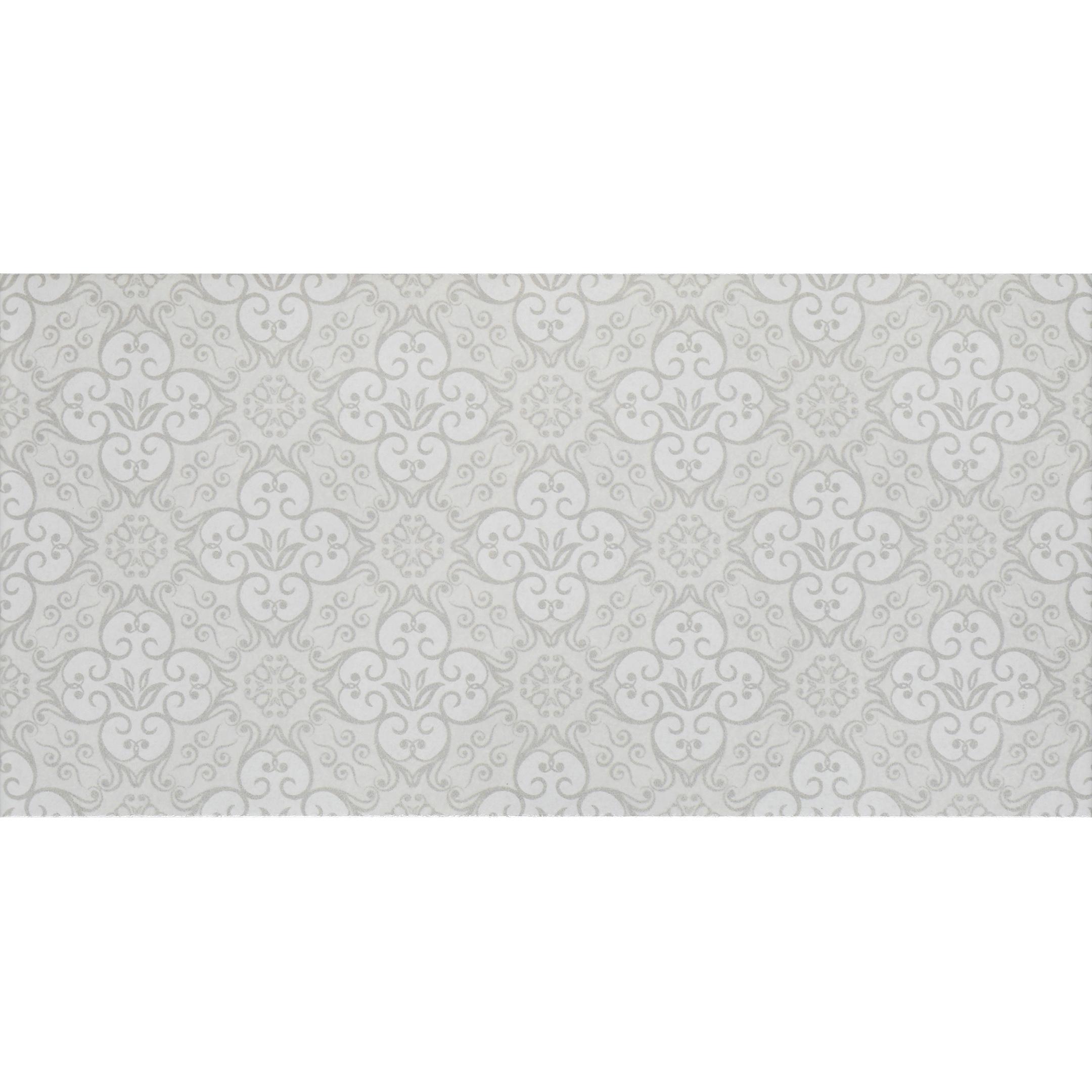 Плитка облицовочная Нефрит-Керамика Алькора серый 200x400x8 мм (15 шт.=1,2 кв.м)