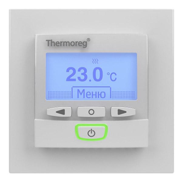 Терморегулятор программируемый для теплого пола Thermoreg TI 950 Design стоимость