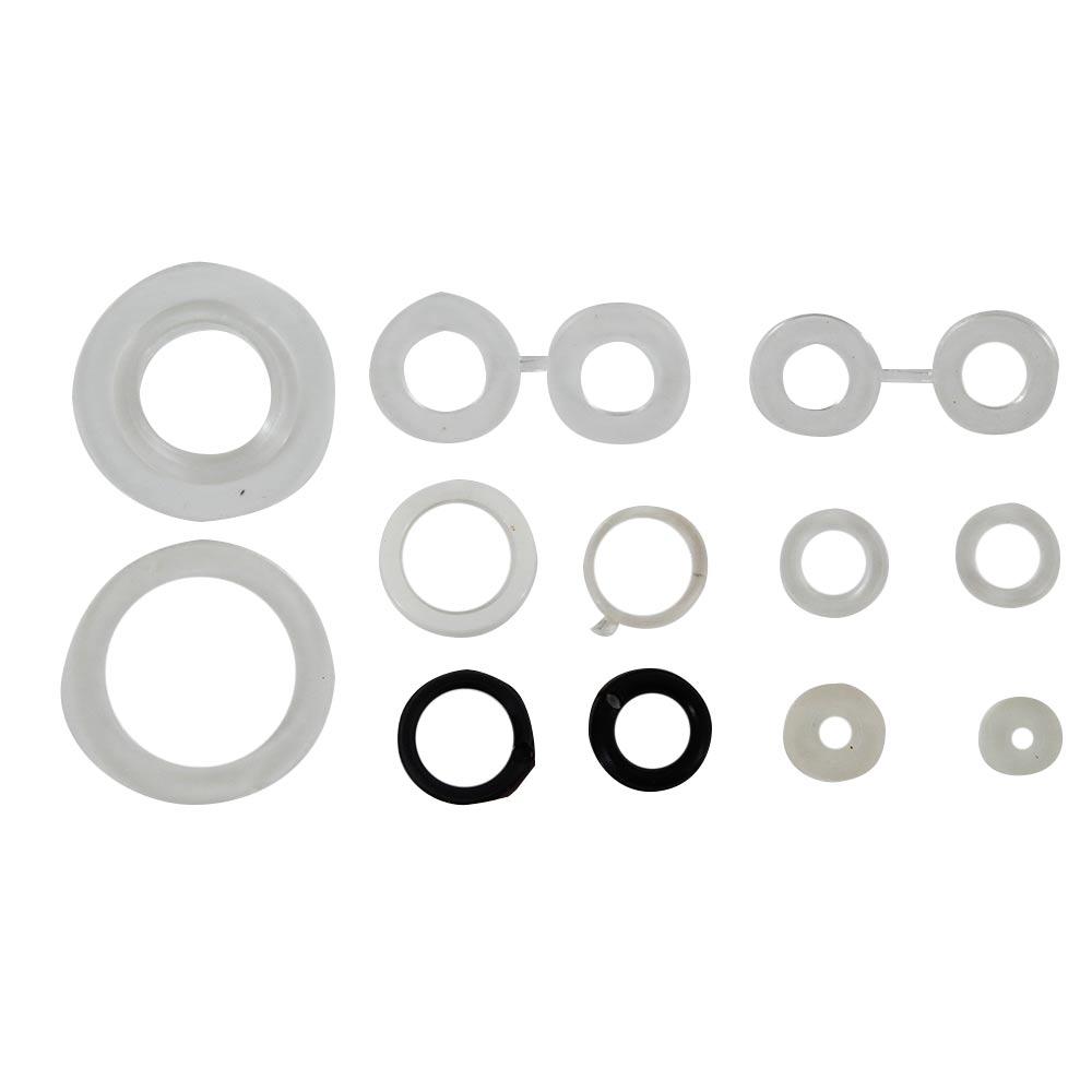 Набор прокладок Сантехник №2 (силикон) набор прокладок для груди medela многоразовые 4 шт