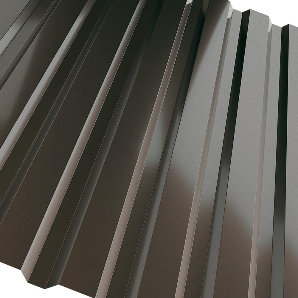 коричневый профлист крыши фото соловьёв этом