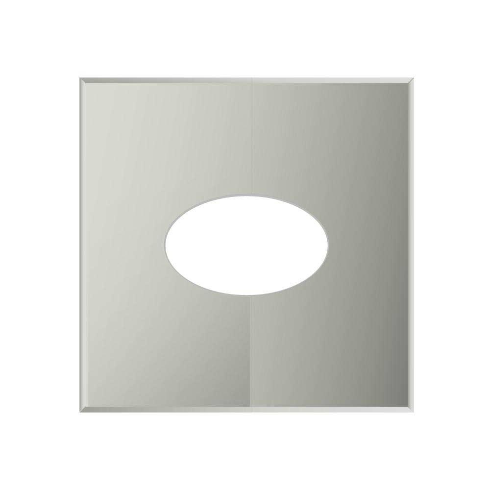Фланец Дымок разрезной 20x45 без изоляции на трубу 115x200 стоимость