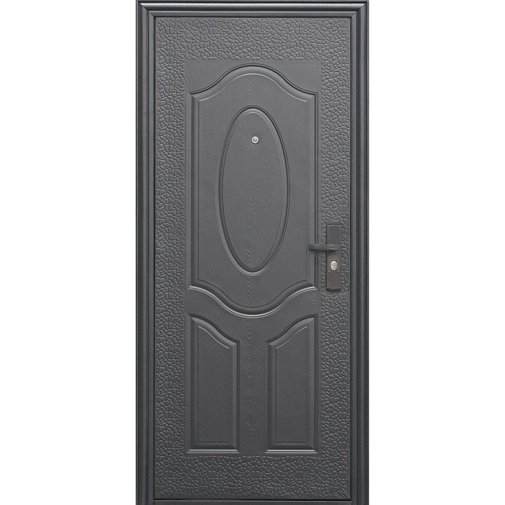 Дверь входная Е40М левая коричневый - коричневый 860х2050 мм