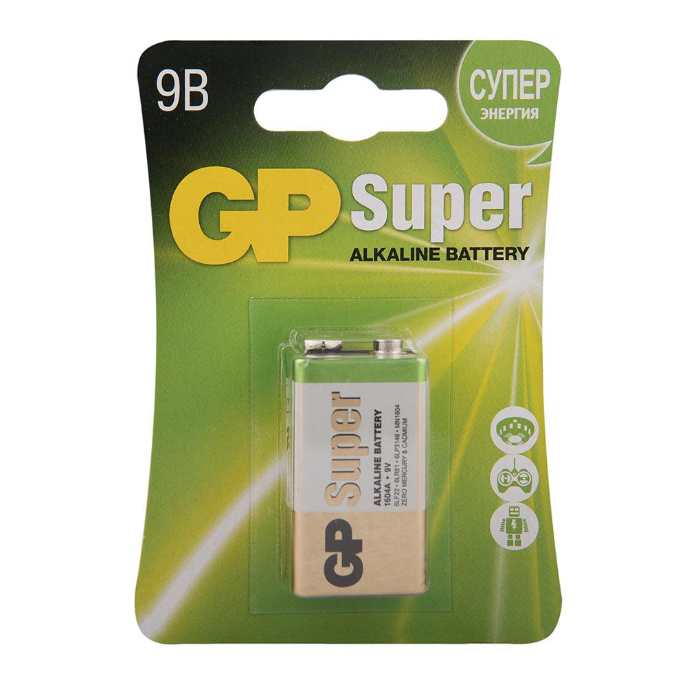 Фото - Батарейка GP Batteries крона 6LR61/6F22 9 В 550 мАч (1 шт.) радиоуправляемые игрушки