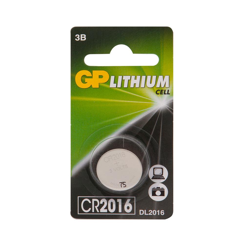 Батарейка GP Batteries CR2016 3 В 90 мАч (1 шт.)