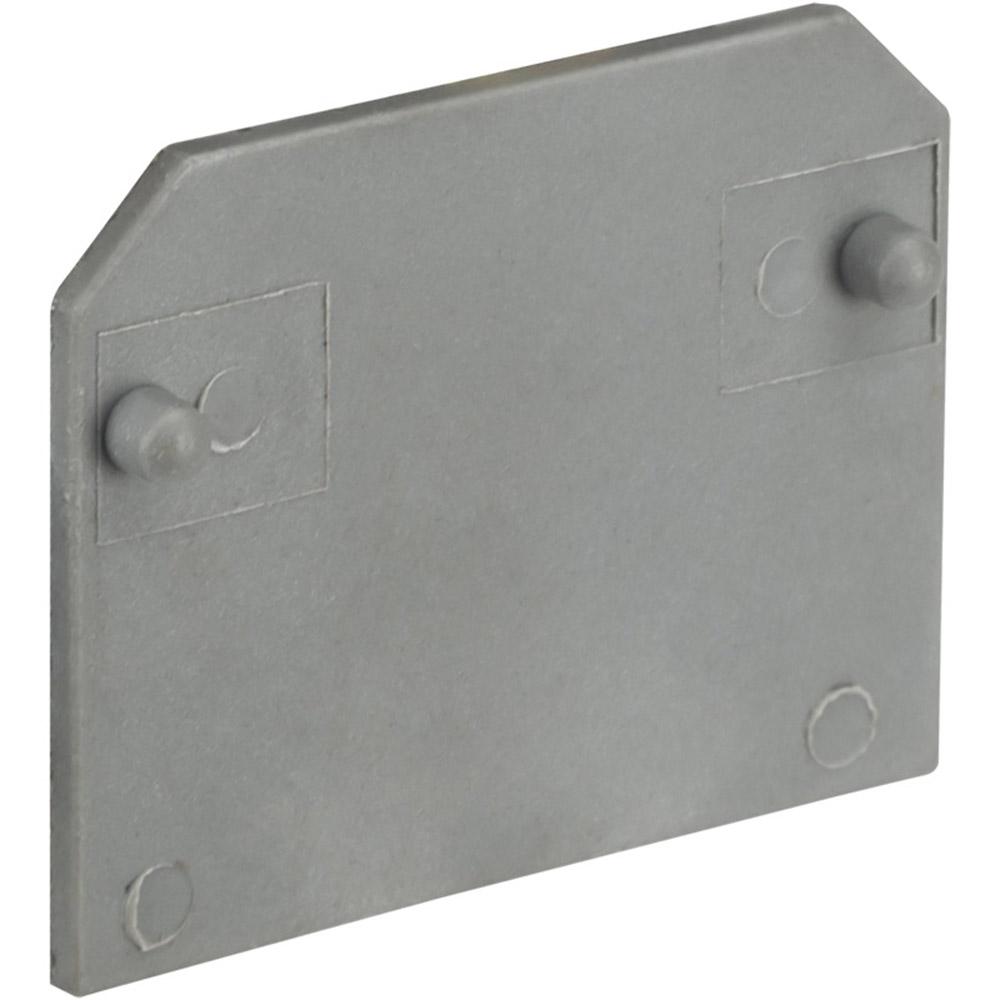 Заглушка для клеммных колодок Navigator 2,5 кв. мм серая (5 шт.)