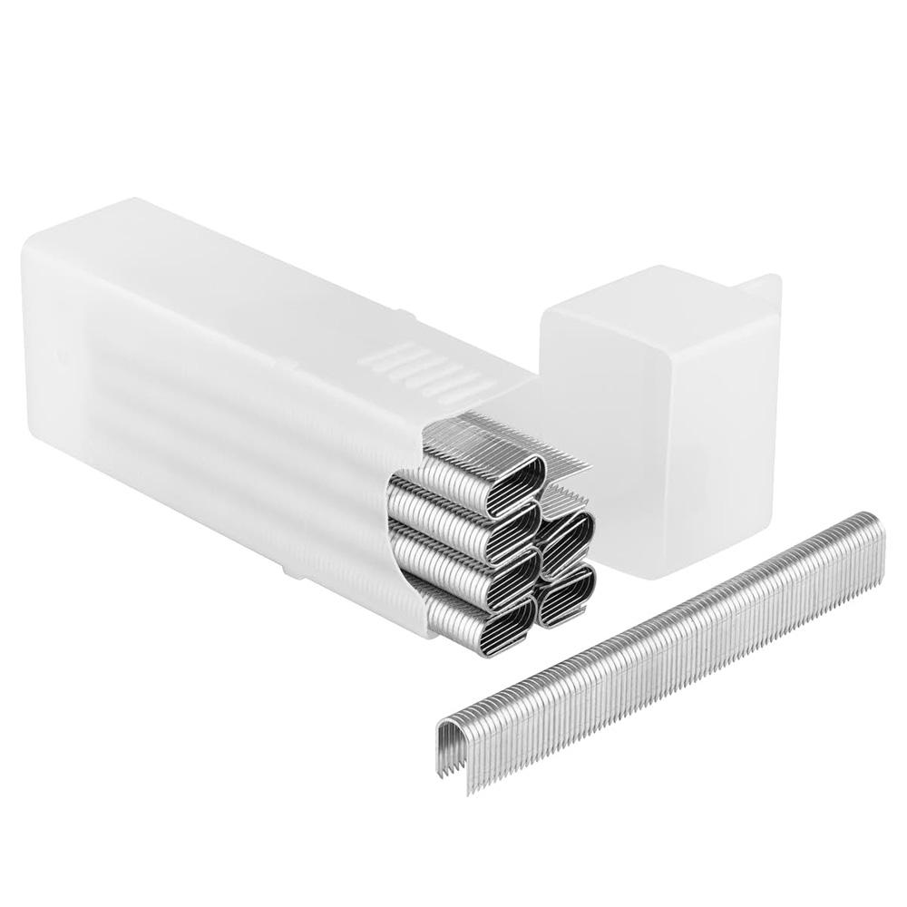 Скобы для степлера Stanley (1-CT108T) тип СТ 100 12 мм для кабеля (1000 шт.) скобы для степлера stanley 1 tra209t тип 53 14 мм 1000 шт