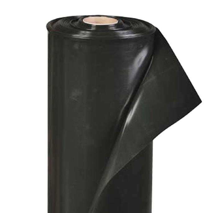 Пленка черная 200 мк 3 м рукав 1,5 м, пог.м.