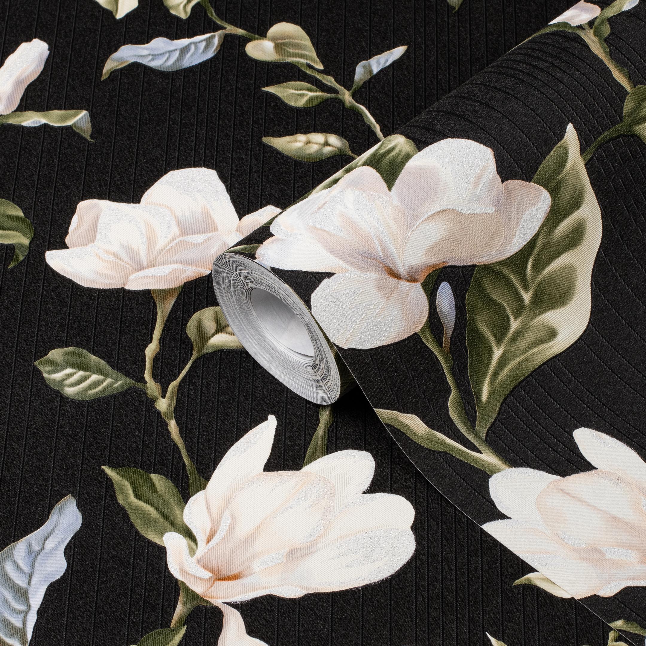 Обои виниловые на флизелиновой основе MaxWall Magnolia 159000-29 (1,06х10 м)