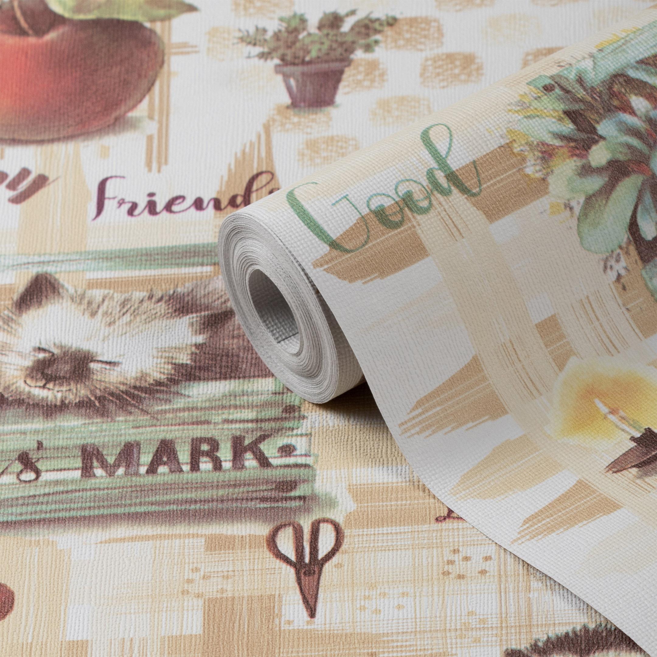Обои бумажные Саратовские обои Ежики Д577-02 (0,53х10,05 м) стоимость