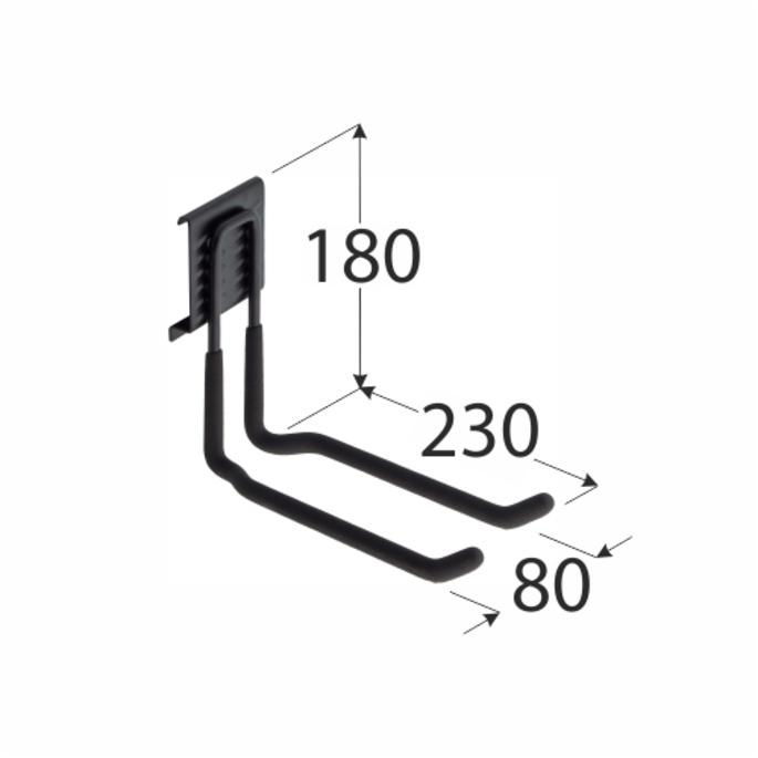 Система Голиаф (SGH11) DMX крюк 90х230 мм