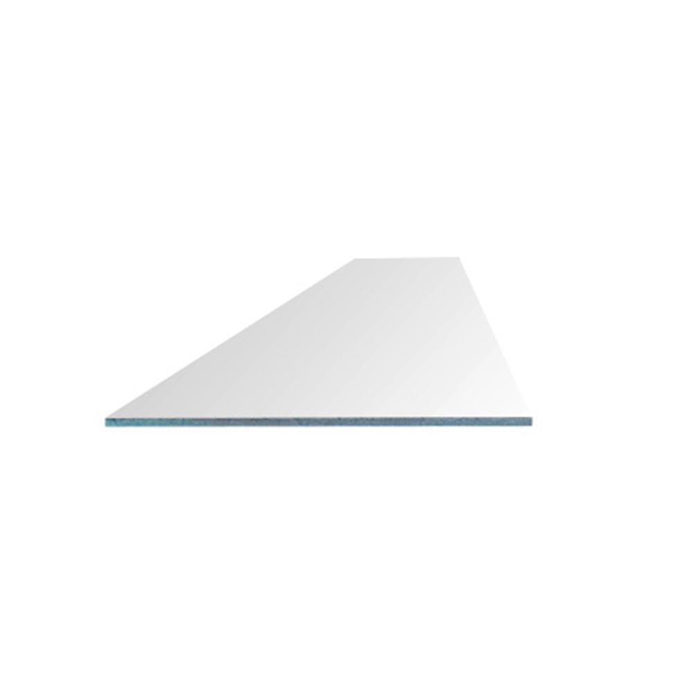 Сэндвич-панель ПВХ для откосов 250х3000х10 мм белая