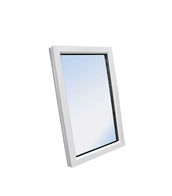 Окно пластиковое VEKA WHS Halo 1160х800 мм 1 створка глухая фото