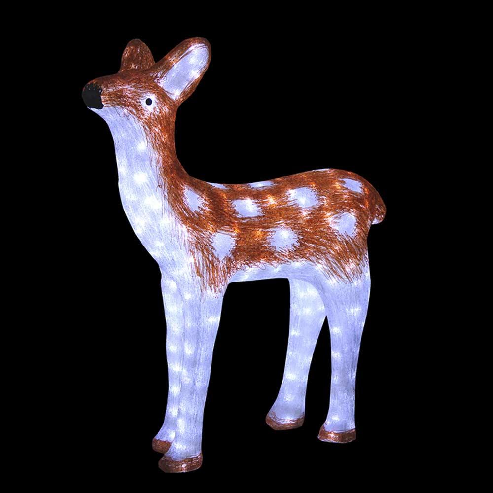 Украшение светодиодное фигура Neon Night Оленёнок коричневый
