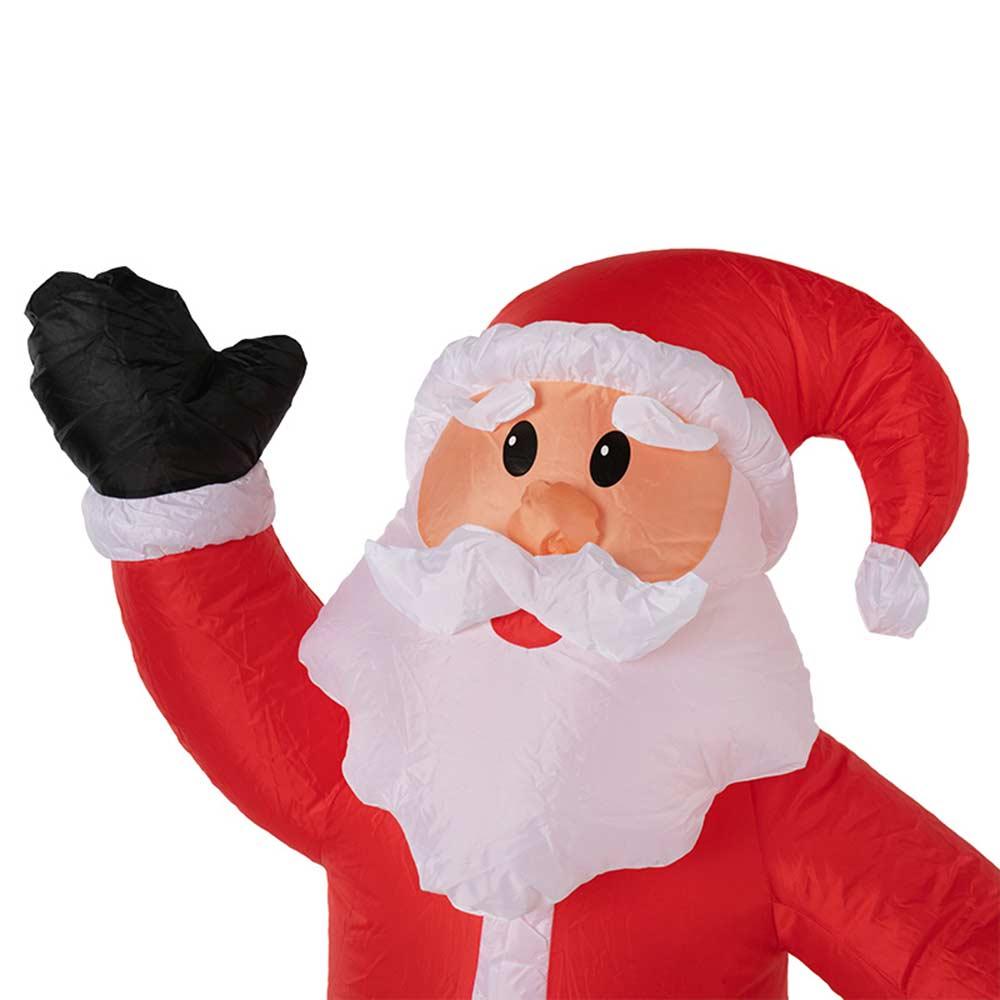 Украшение надувное Дед Мороз приветствует 150