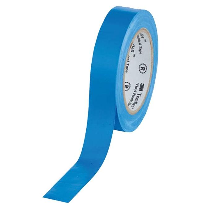 Изолента 3M Temflex 1300 ПВХ синяя 15 мм 10 м