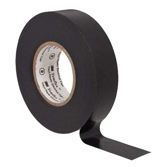 Изолента 3M Temflex 1300 ПВХ черная 15 мм 10 м