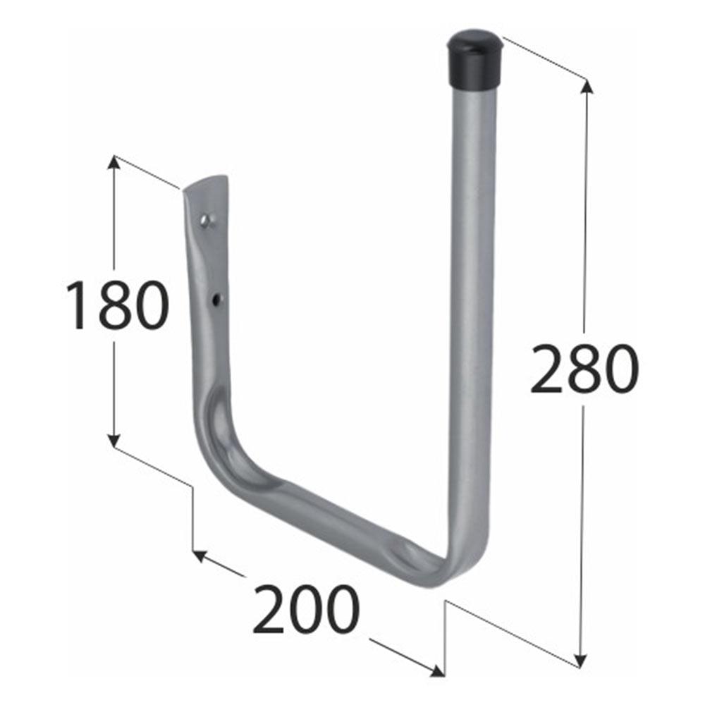 Крюк высокий DMX тип U 280х200х180 мм оцинкованный цена