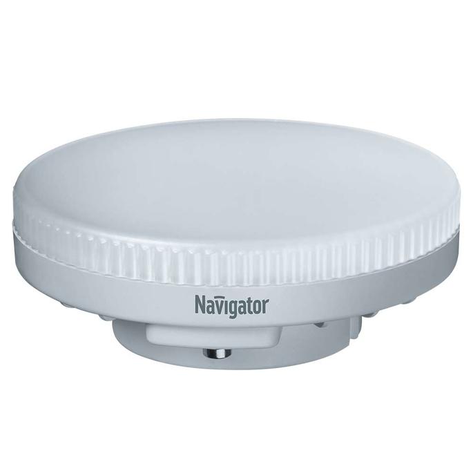 Лампа светодиодная Navigator 10 Вт GX53 таблетка 2700 К теплый свет 230 В диммируемая