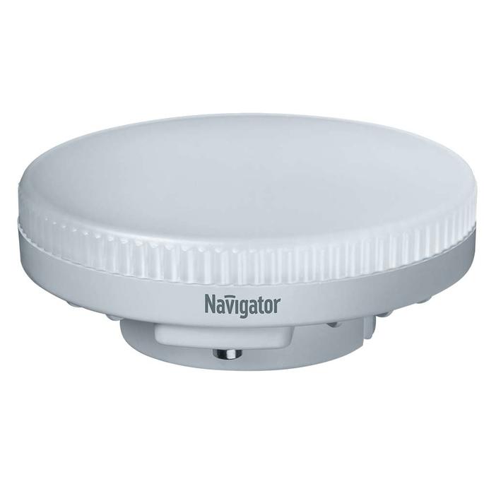 Лампа светодиодная Navigator 10 Вт GX53 таблетка 4000 К дневной свет 230 В диммируемая