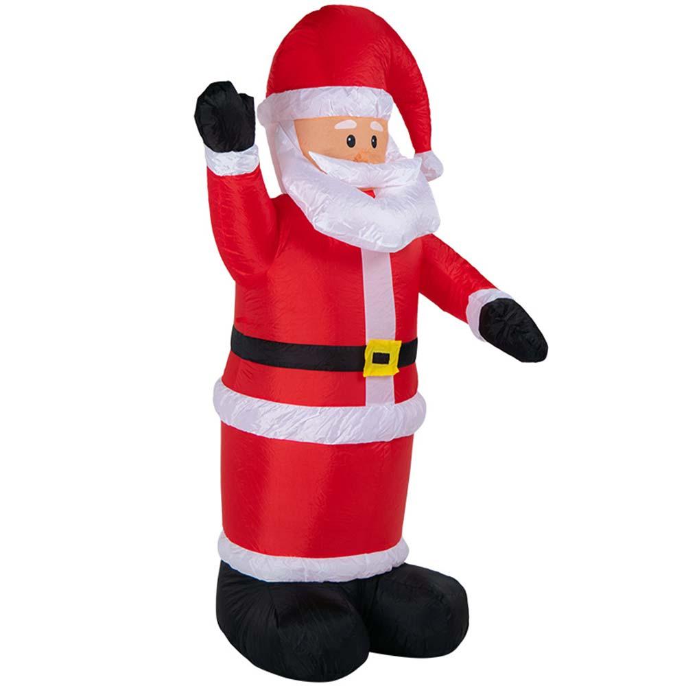 Украшение надувное Дед Мороз приветствует 180
