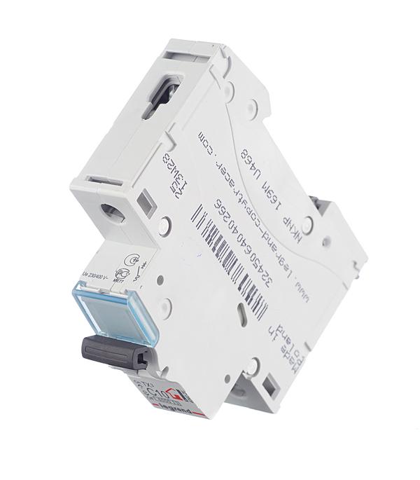Автомат Legrand TX3 (404026) 1P 10 А тип C 6 кА 230-400 В на DIN-рейку фото