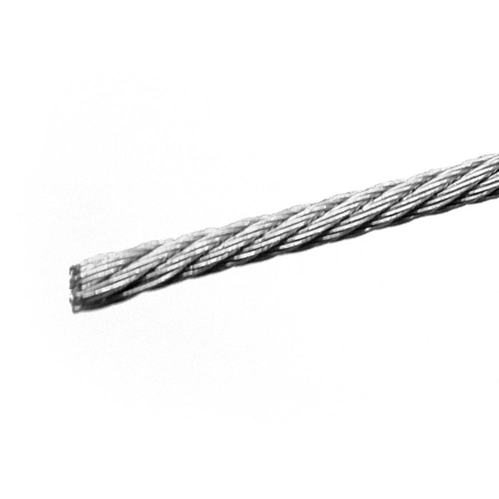 Трос нержавеющая сталь d6 мм DIN 8379 фото