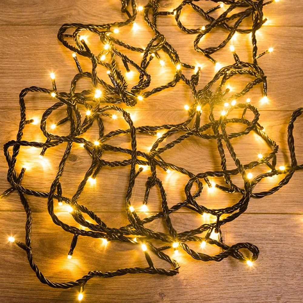 Фото - Гирлянда светодиодная Neon-Night Твинкл Лайт 100 LED свечение золотистое 10 м (303-138) гирлянда neon night твинкл лайт 100 led 1000 см 100 ламп синий черный провод