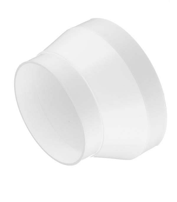 Соединитель эксцентриковый пластиковый для круглых воздуховодов d100 мм с круглыми d125 мм врезка оцинкованная для круглых стальных воздуховодов d125х100 мм