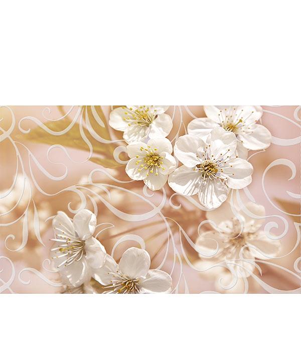 Плитка декор Сакура 250х400х8 мм коричневый 04
