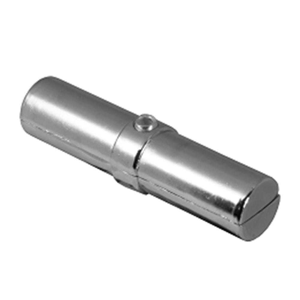 Соединитель внутренний для двух труб к системе Joker d25 мм с кольцом хром держатель краб для двух труб d25 мм цвет хром