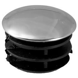 Заглушка внутренняя стальная для труб к системе Joker d25 мм хром (2 шт.) держатель краб для двух труб d25 мм цвет хром