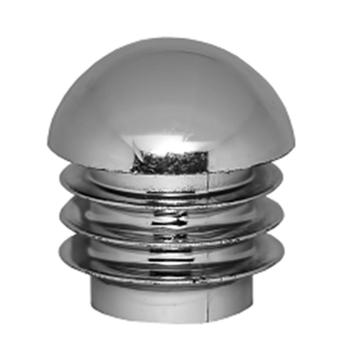 Заглушка внутренняя пластиковая для труб к системе Joker d25 мм хром (2 шт.)