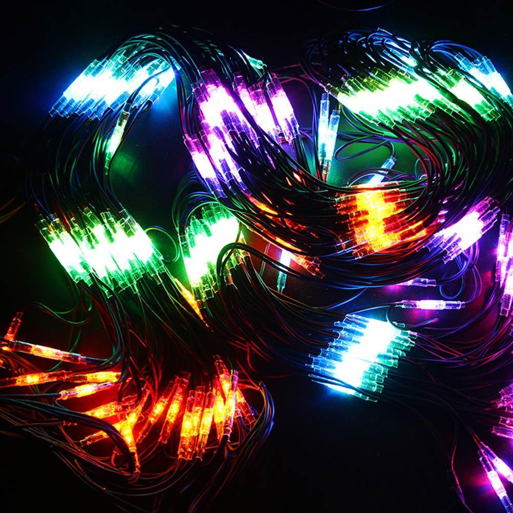 Гирлянда светодиодная Neon-Night Сеть 432 LED свечение мультиколор 2х3 м уличная (217-129)