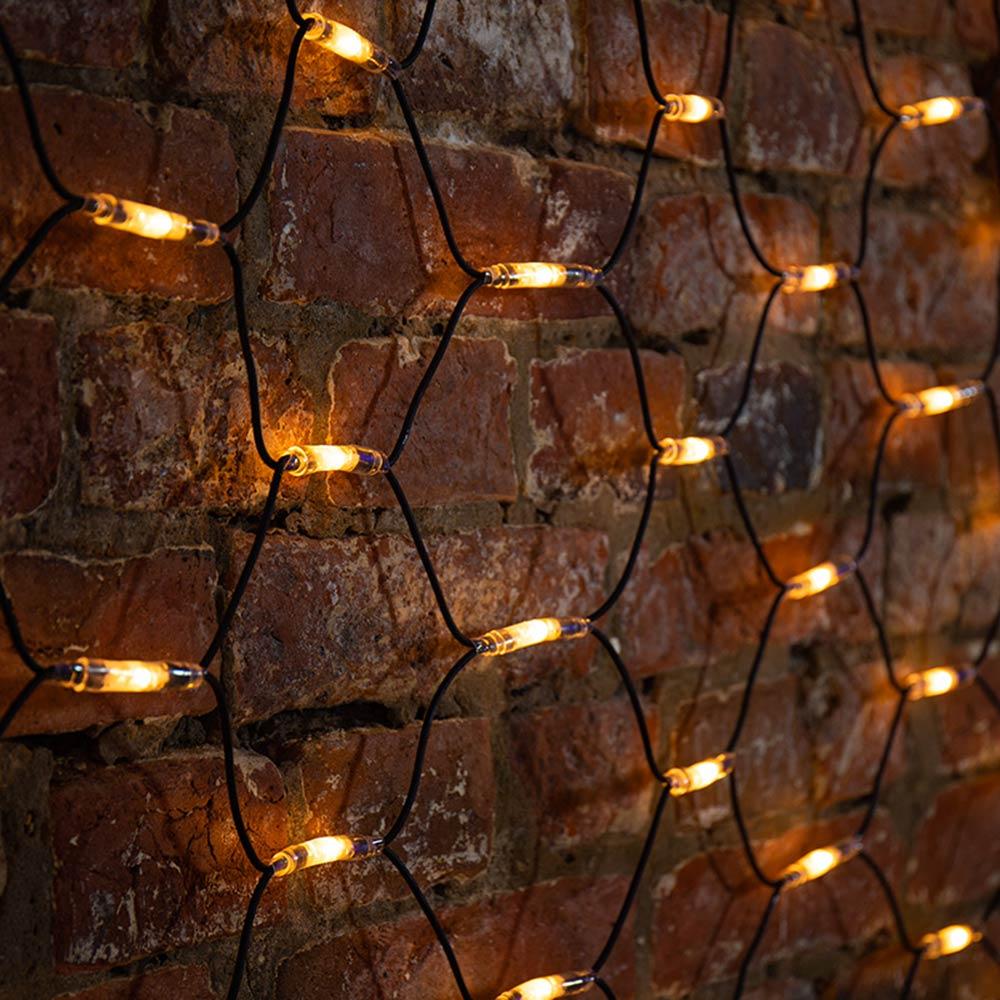 Гирлянда светодиодная Neon-Night Сеть 432 LED свечение теплое белое 2х3 м уличная (217-126)