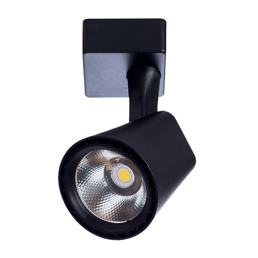 Светильник трековый светодиодный ARTE LAMP (A1811PL-1BK) LED 10 Вт 220 В черный 3000 К теплый свет IP20 100x130x80 мм