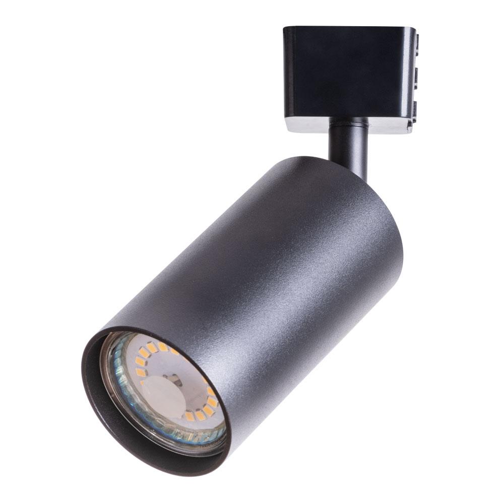 Светильник трековый ARTE LAMP (A1518PL-1BK) GU10 35 Вт 220 В черный цилиндрический IP20 d56x170 мм