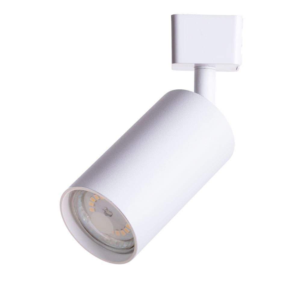 Светильник трековый ARTE LAMP (A1518PL-1WH) GU10 35 Вт 220 В белый цилиндрический IP20 d56x170 мм