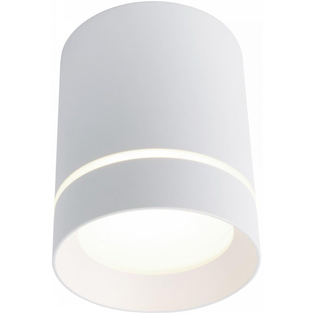 Светильник светодиодный накладной ARTE LAMP A1909PL-1WH d80x100 мм 9 Вт 220 В 4000 К дневной свет IP20 цилиндрический белый