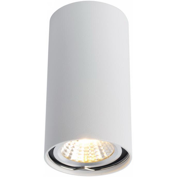 Светильник накладной ARTELAMP A1516PL-1WH GU10 d56x100 мм 15 Вт 220 В IP20 цилиндрический белый
