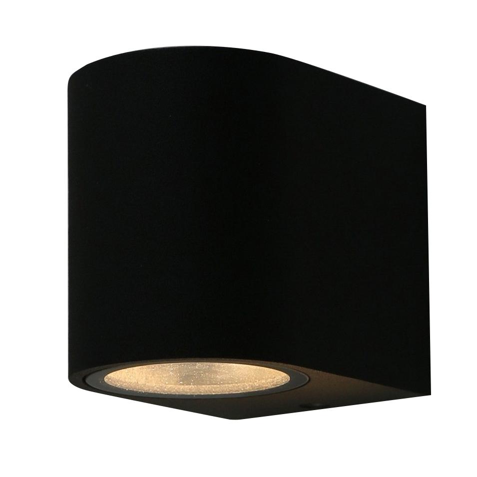Светильник накладной ARTE LAMP (A3102AL-1BK) GU10 90x80x70 мм 35 Вт 220 В IP44 черный светильник накладной arte lamp a3102al 1wh gu10 90x80x70 мм 35 вт 220 в ip44 белый