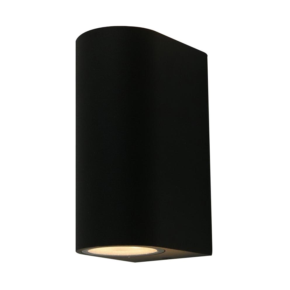 Светильник накладной ARTE LAMP (A3102AL-2BK) GU10 90x150x70 мм 35 Вт 220 В IP44 черный светильник накладной arte lamp a3102al 1wh gu10 90x80x70 мм 35 вт 220 в ip44 белый