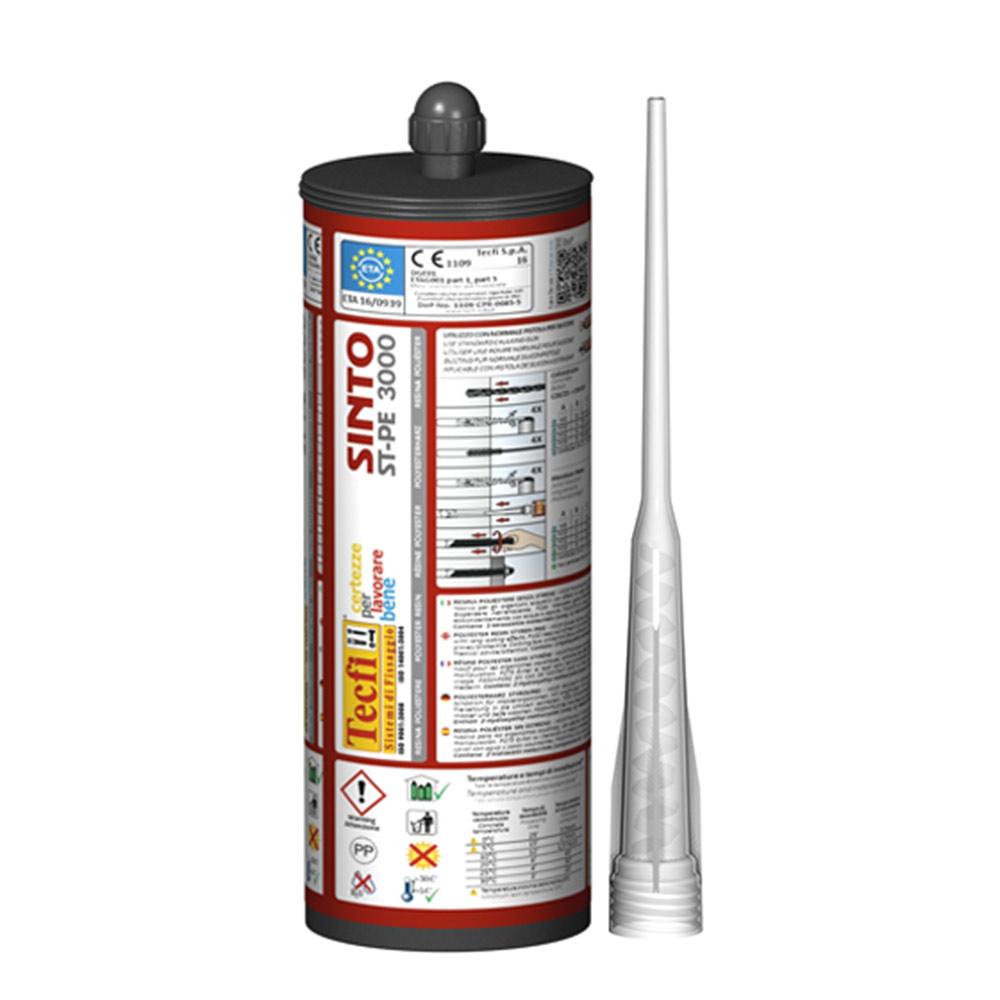 Химический анкер Tecfi DGE (полиэстеровая смола) 400мл. анкер химический rm 12 fischer 10 шт
