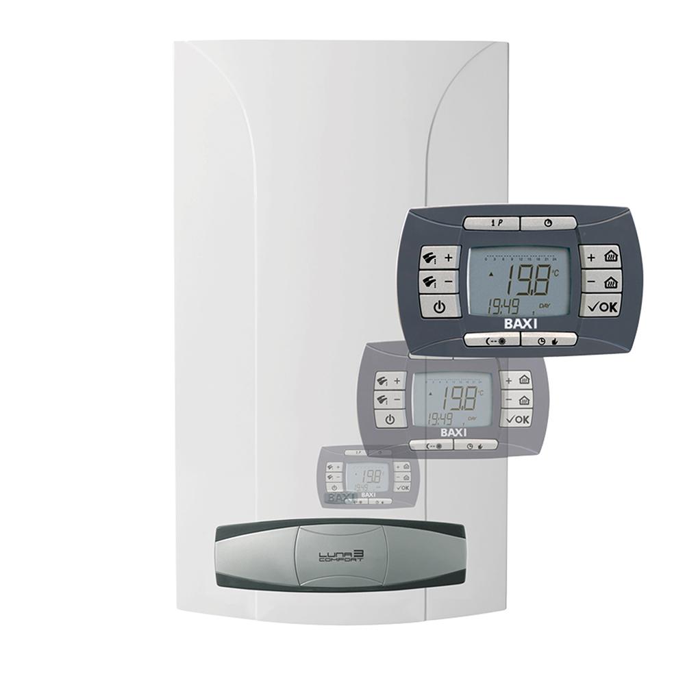 Котел газовый Baxi LUNA 3 comfort 1.310 Fi (31 кВт) CSE45531358 одноконтурный с закрытой камерой