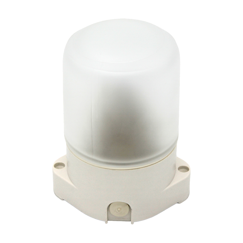 Светильник накладной SVET НББ 01-60-001 Е27 105х84х138 мм 60 Вт 220 В IP65 белый цена