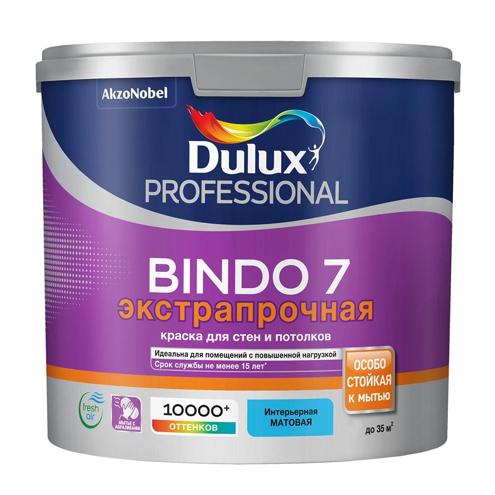 Фото - Краска водно-дисперсионная Dulux Bindo 7 экстрапрочная моющаяся основа ВС 2,25 л краска водно дисперсионная dulux bindo 7 экстрапрочная моющаяся основа вс 1 л