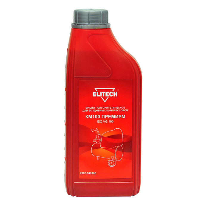 Масло Elitech (2003.000100) 1 л для компрессоров полусинтетическое
