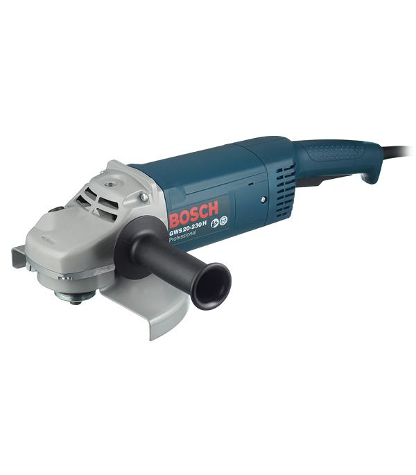 Шлифмашина угловая (УШМ) Bosch GWS 20-230 H 2000 Вт 230 мм угловая шлифмашина bosch gws 20 230 h professional